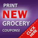 Manufacturer coupons.  Print grocery coupons.